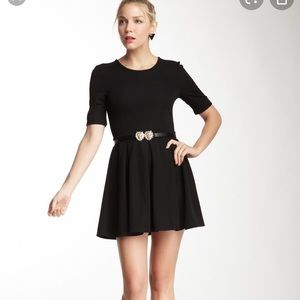 MINKPINK pleated fit and flare LBD